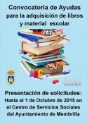 Publicada la convocatoria para ayudas a la adquisición de libros y material escolar